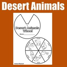 Desert Biomes : Here's a fun activity to compliment your desert biomes studies! Your students will enjoy making this interactive wheel showing which animals live in the desert biome! Desert Biomes | Desert Biome | Desert Animals | Desert Biomes | Desert Activities | Animal Habitats | Deserts  Visit  Green Apple Lessons for more great ELA, math & social studies resources!