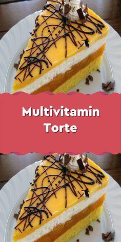 German Bakery, Sweet Recipes, Waffles, Stampin Up, Vitamins, Cheesecake, Good Food, Food And Drink, Pie