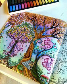 698 melhores imagens de Livro Jardim Secreto em 2020 | Colorir ...