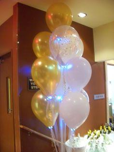 Blau Dcolor LED Ballon-Licht Mix /& Match Geburtstag Hochzeit Neu Helium Latex