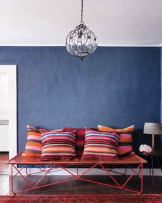 How one family used their love for vibrant colors to dictate all their decor choices.