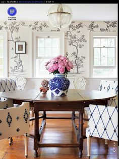 From artist Cindy Sherman's house in Architectural Digest