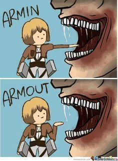 Some of the funniest anime memes I've come across. :) #humor # Humor # amreading # books # wattpad Anime Meme, Funny Anime Pics, Otaku Anime, Anime Guys, Manga Anime, Aot Anime, Armin, Mikasa, Attack On Titan Comic