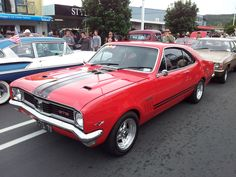 A stunning example seen at Beach Hop in Whangamata. Australian Muscle Cars, Aussie Muscle Cars, Old Muscle Cars, Man Cave Gear, Car Man Cave, Holden Monaro, Holden Australia, Wayne's World, Germany And Italy
