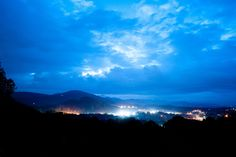 Gorgeous blue tone to this! View from the Crest Center. Photo Credit: Realities by Jill