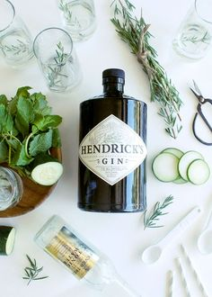 The most refreshing Cucumber Rosemary Gin and Tonic