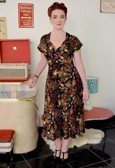 Twizzle Dress - Rich Bounty