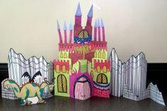 Paper Castle Sculptures