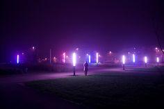 Glow Fields #neon