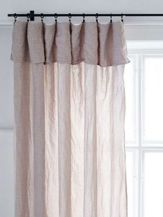 Designed curtains, cushion covers, towels, blankets, bed sets and more - Unique interior from Artilleriet. Bedroom Drapes, Linen Curtains, Drapes And Blinds, Blinds For Windows, Caravan Curtains, Compact Living, Custom Drapes, House Windows, Awesome Bedrooms