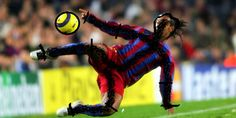 Getekend bewerkt in paint,Ronaldinho