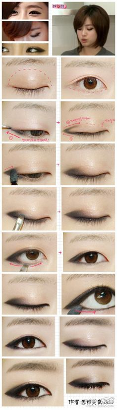 kpop star makeup                                                                                                                                                     More