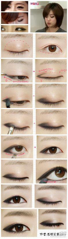 kpop star makeup