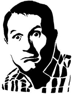 Al Bundy stencil template