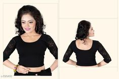 Checkout this latest Blouses Product Name: *Beautiful Women's Blouses* Fabric: Cotton Lycra  Sleeves: 3/4 Sleeves are Included Size: Up To 28 in To 36 in (Free Size ) Length: Up To 15 in Type: Stitched Description: It Has 1 Piece Of Blouse   Work : Net Country of Origin: India Easy Returns Available In Case Of Any Issue   Catalog Rating: ★4.1 (1135)  Catalog Name: Free Gift Stylish Designer Women's Readymade Blouse Vol 1 CatalogID_65794 C74-SC1007 Code: 422-590400-474