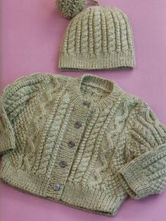 Free pattern for baby cardigan