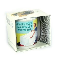 €9.90 A Clean House Is A Sign Of A Wasted Life Muki