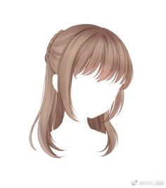 Fantasting Drawing Hairstyles For Characters Ideas. Amazing Drawing Hairstyles For Characters Ideas. Kawaii Hairstyles, Cute Hairstyles, Drawing Hairstyles, Anime Hairstyles, Cute Anime Character, Character Outfits, Pelo Anime, Chibi Hair, Manga Hair
