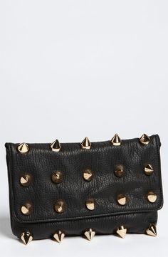 Deux Lux 'Empire' Faux Leather Clutch #vegan