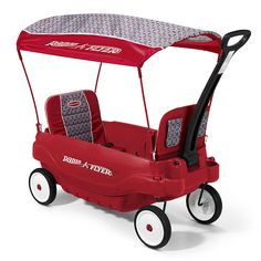 Radio Flyer 5- in-1 Family Wagon, this would be great to go to the Big E, or any carnivals, beach