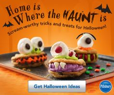 """Home is where the """"haunt"""" is....cute saying."""