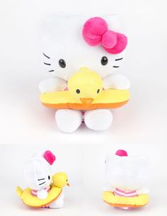 "#HelloKitty 5"" Plush: Ducky Ring #sanrio"