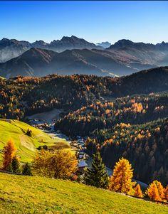 Fall morning  by Aleksandar Gospić (Dolomites, Italy)