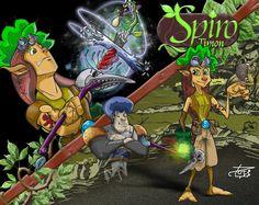 Spiro Timon - personagem - Criação: Darci Campioti visite: www.institutodeartesdarcicampioti.blogspot.com.br