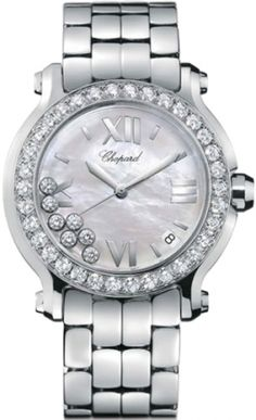 f6ed32ac885 (Limited Supply) Click Image Above  Chopard Happy Sport Stainless Steel Ladies  Watch