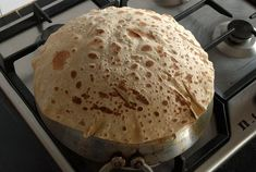 Rumali Roti - Saj Bread - Markook - Shrak - Roti - Whole Wheat Roti - Fl...