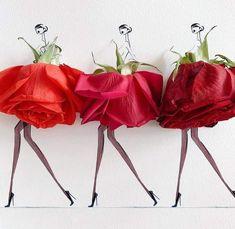 Beautiful Flower Arrangements, Beautiful Flowers, Fashion Images, Fashion Art, Classy Chic, Flower Fashion, Art Day, Flower Art, Really Cool Stuff