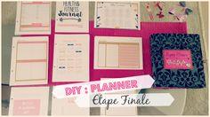 DIY #7 | Planner à partir d'un classeur A5 ❤ Etape #3 Dernière :)
