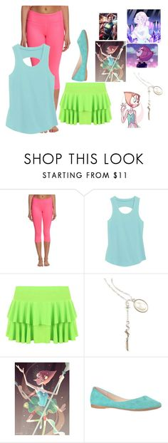 """""""Night's OutFit #Pearl"""" by nightmareplier on Polyvore featuring Alo Yoga, WearAll and Cartoon Network"""