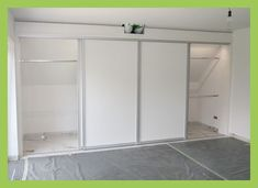 An old house and with room doors in solid wood - frame construction, white lacquer ., old ei .An old house and with room doors in solid wood - frame construction, white lacquer ., old Attic Wardrobe, Sliding Wardrobe Doors, Attic Closet, Closet Bedroom, Sliding Doors, Closet Doors, Wardrobe Ideas, Attic Office, Sliding Table