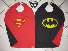 Superman/Batman capes