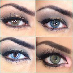 All about colored contacts (Desio, Solotica, Waicon)