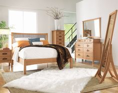 A fusion of arts & crafts and Asian design, the Berkeley Bedroom is both sophisticated and practical. Made from solid wood in five finish options. http://copenhagen-imports.com/product/berkeley-bedroom/