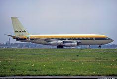 Boeing 707, Boeing Aircraft, British Airline, British Airways, Monarch Airlines, Civil Aviation, Air Travel, Airplanes, Jet Set