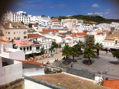 Albufeira-Old Town Square in Albufeira