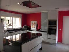 #cocinas Campana de techo de Pando