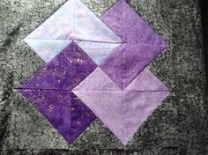 A quilted block for my gifted class. Made by Ruthie Snell.