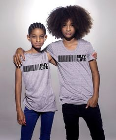 Willow and Jaden Smith, lovely <3 !