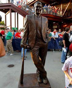 Harry Kalas statue.  #Phillies love