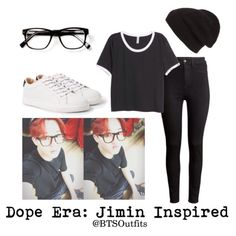BTS Jimin Dope era Selca insp. outfit
