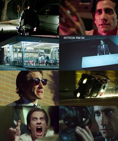 """Nightcrawler (2014) • """"My motto is: if you wanna win the lottery, you have to make the money to buy the ticket."""" /dir. Dan Gilroy 