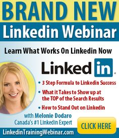 A lot of people have been asking me when I am doing another Linkedin webinar. I'm doing 2 this week, one on Thursday and one on Saturday. The webinar is free, to register go to: http://LinkedinTrainingWebinar.com/  #Webinar #Linkedin