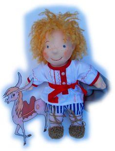 Der Junge aus einem russischen Märchen von Elena Schneider. http://www.omalena.de/