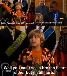 When a 12 year old (Zach & Cody!) teaches an adult a lil somethin' somethin about...somethin.