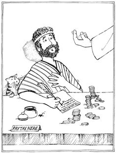 St. Matthew coloring page