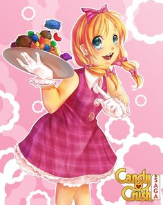 The Girl From Candy Crush by =pikadiana